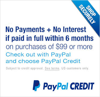PayPal Credit Application Link